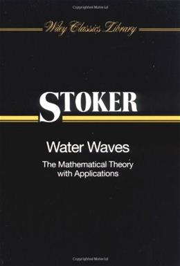Water Waves, by Stoker 9780471570349