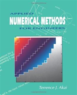 Applied Numerical Methods for Engineers, by Akai 9780471575238