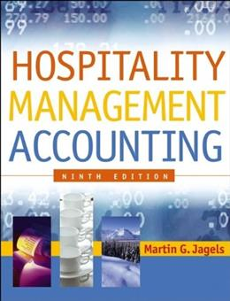 Hospitality Management Accounting, by Jagels, 9th Edition 9780471687894