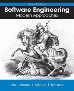 Software Engineering, by Braude 9780471692089
