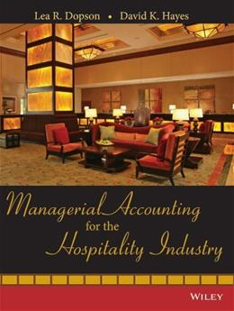 Managerial Accounting for the Hospitality Industry BK w/CD 9780471723370