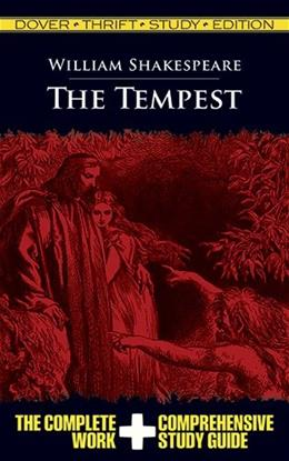 Tempest, by Shakespeare, Thrift Study Edition 9780486478074