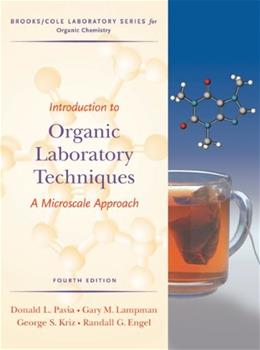 Introduction to Organic Laboratory Techniques: A Microscale Approach (Brooks/Cole Laboratory Series for Organic Chemistry) 4 9780495016304