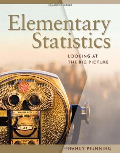 Elementary Statistics: Looking at the Big Picture (Available 2011 Titles Enhanced Web Assign) 9780495016526