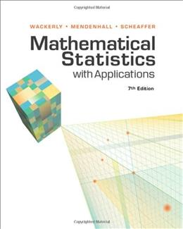 Mathematical Statistics with Applications 7 9780495110811