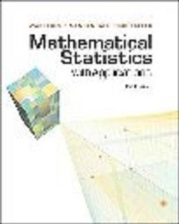Mathematical Statistics With Application, by Wackerly, 7th Edition, SOLUTIONS MANUAL 9780495385066