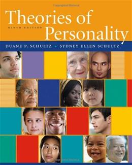 Theories of Personality, by Schultz, 9th Edition 9780495506256