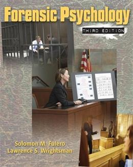 Forensic Psychology 3 9780495506492