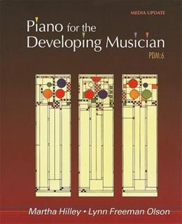 Piano for the Developing Musician: Media Update, by Hilley, 6th Edition 9780495792291