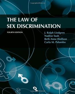 The Law of Sex Discrimination, 4th Edition 9780495793229