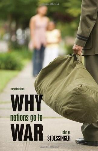 Why Nations Go to War 11 9780495797180