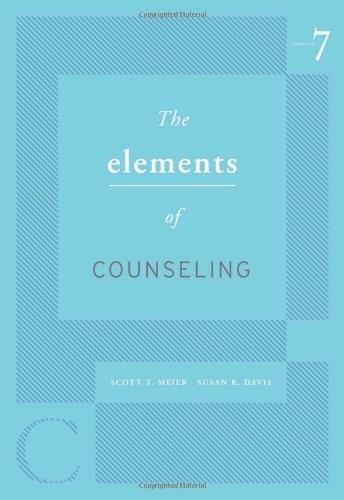 The Elements of Counseling (HSE 125 Counseling) 7 9780495813330