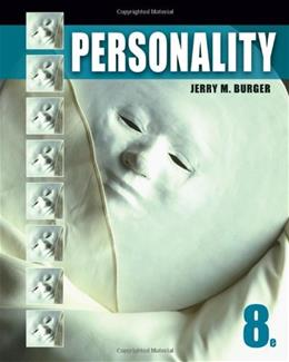 Personality, 8th Edition 9780495813965