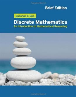 Discrete Mathematics: Introduction to Mathematical Reasoning 4 9780495826170