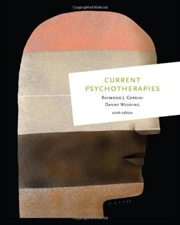 Current Psychotherapies, 9th Edition 9780495903369