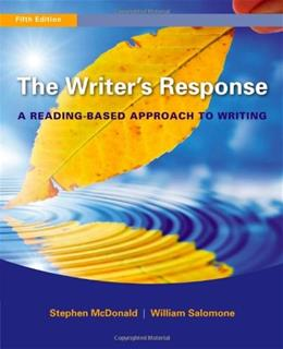 The Writers Response 5 9780495906261