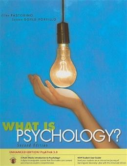 What is Psychology? PsykTrek 3.0, by Pastorino, 2nd Edition 9780495907961