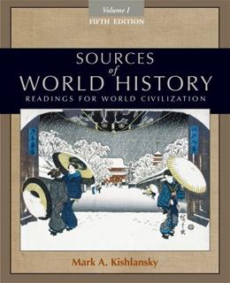 1: Sources of World History, Volume I 5 9780495913177