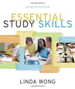 Essential Study Skills, by Wong, 7th Edition 9780495913504