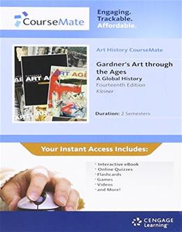 Gardners Art through Ages: A Global History, by Kleiner, 14th Edition, ACCESS CODE ONLY 14 PKG 9780495915447