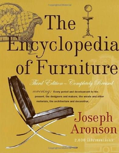 Encyclopedia of Furniture, by Aronson, 3rd Revised Edition 9780517037355
