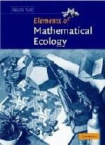 Elements of Mathematical Ecology, by Kot 9780521001502