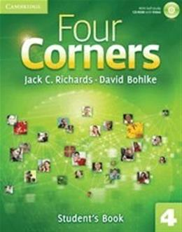 Four Corners Level 4 Students Book, by Richards BK w/CD 9780521127714