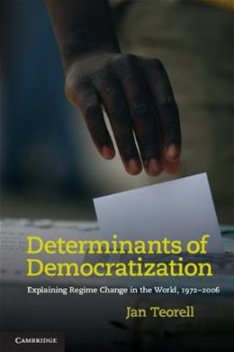 Determinants of Democratization, by Teorell 9780521139687