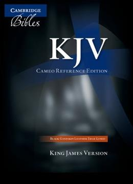 KJV Bible: Cameo Reference Edition, by Cambridge 9780521146128