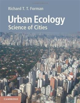Urban Ecology: Science of Cities 9780521188241