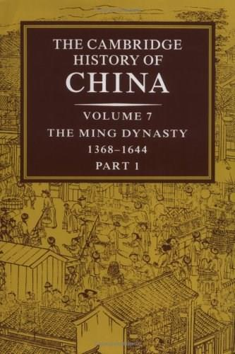 Cambridge History of China, by Mote 9780521243322