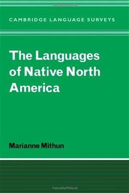 Languages of Native North America, by Mithun 9780521298759
