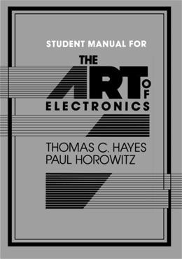 Art of Electronics, by Hayes, Manual 9780521377096