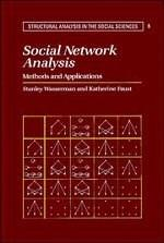 Social Network Analysis: Methods and Applications, by Wasserman 9780521387071