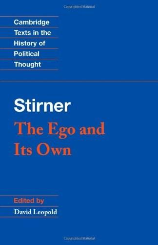 Ego and Its Own, by Striner 9780521456470