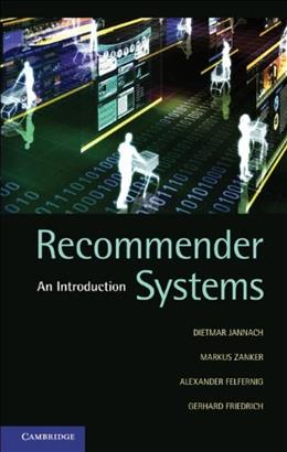 Recommender Systems, by Jannach 9780521493369