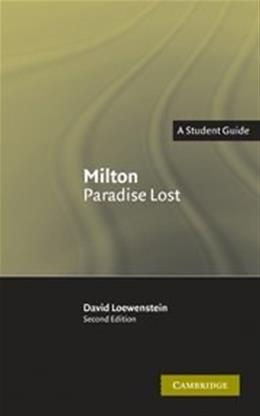 Milton: Paradise Lost, by Loewenstein, 2nd Edition 9780521539791