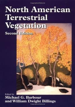 North American Terrestrial Vegetation, by Barbour, 2nd Edition 9780521559867