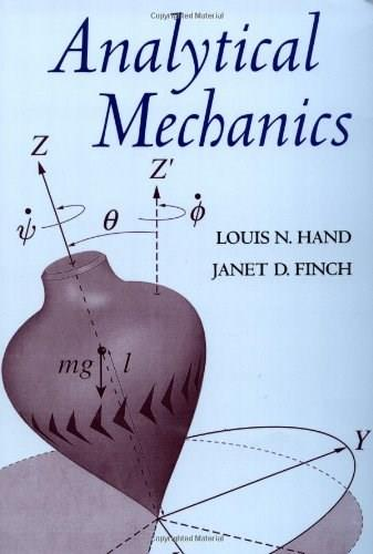 Analytical Mechanics, by Hand 9780521575720