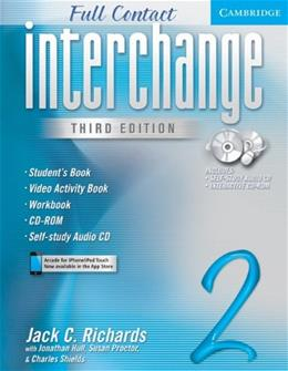 Interchange: Full Contact 2, by Richards, 3rd Edition, Students Book BK w/CD 9780521614702