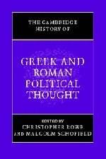 Cambridge History of Greek And Roman Political Thought, by Rowe 9780521616690
