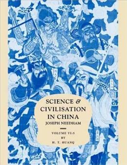 Science and Civilisation in China 9780521652704