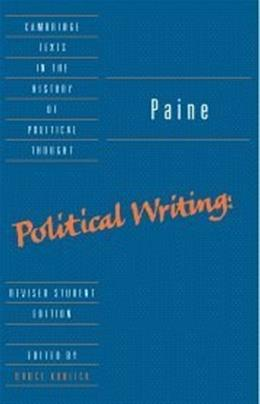 Political Writings, by Paine, Revised Edition 9780521667999