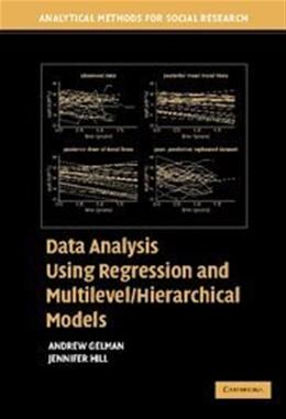 Data Analysis Using Regression and Multilevel Hierarchical Models, by Gelman 9780521686891