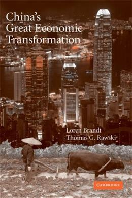 Chinas Great Economic Transformation, by Barandt 9780521712903