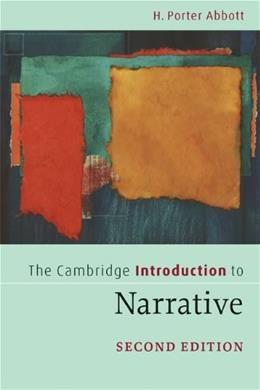 Cambridge Introduction to Narrative, by Porter, 2nd Edition 9780521715157