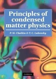 Principles of Condensed Matter Physics, by Chaikin 9780521794503