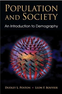 Population and Society: An Introduction to Demography 1 9780521872874