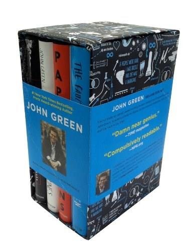 John Green Box Set, by Green, 4 Book Set PKG 9780525426097