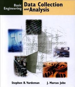 Basic Engineering Data Collection and Analysis, by Vardeman BK w/CD 9780534369576